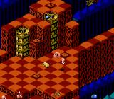 Snake Rattle N Roll NES The balls gets harder and harder to catch