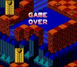 Snake Rattle N Roll NES Game over!