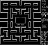 Munch! Exidy Sorcerer Game over