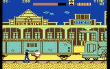 Express Raider Commodore 64 Fighting before boarding the train