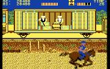 Express Raider Commodore 64 Shoot those guys hiding in the train!