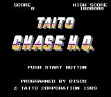 Chase H.Q. NES Title