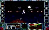 Fire Hawk: Thexder - The Second Contact DOS Jumping and attacking (EGA)