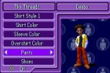 The Urbz: Sims in the City Game Boy Advance Create-an-Urb