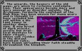 Times of Lore DOS From the intro (CGA mode with RGBI monitor)