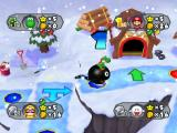 Mario Party 6 GameCube Yoshi rides a chain chomp