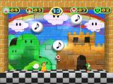 Mario Party 6 GameCube Mini game: jump to hit the musical notes