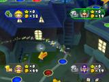 Mario Party 6 GameCube Luigi rides a broom...