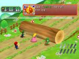 Mario Party 6 GameCube A microphone game: rolling a log out of the way