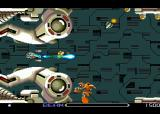 R-Type TurboGrafx-16 Nearing the end of the first level