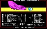Might and Magic II: Gates to Another World DOS Create New Characters