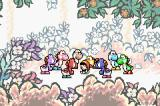 Yoshi's Island: Super Mario Advance 3 Game Boy Advance The Yoshis wonder what to do with Mario.