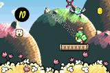Yoshi's Island: Super Mario Advance 3 Game Boy Advance After making eggs, he can then throw them.