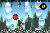 Yoshi's Island: Super Mario Advance 3 Game Boy Advance The plant spits out little star dudes and coins when Yoshi throws an enemy or an egg in it.