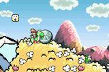 Yoshi's Island: Super Mario Advance 3 Game Boy Advance Chomp rocks are often used to destroy long lines of enemies quickly.