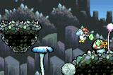 Yoshi's Island: Super Mario Advance 3 Game Boy Advance Yoshi carries a key as he would an egg.