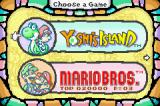 Yoshi's Island: Super Mario Advance 3 Game Boy Advance The Game Select Menu