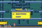 Yoshi's Island: Super Mario Advance 3 Game Boy Advance Pause Screen