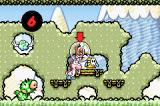 Yoshi's Island: Super Mario Advance 3 Game Boy Advance When hit, Mario falls off the Yoshi and resides in a bubble until the Yoshi rescues him.