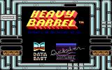 Heavy Barrel DOS Title screen (EGA)