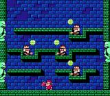 Don Doko Don NES Evil wizards throw gems at you