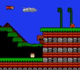 Bonk's Adventure NES Using your teeth to climb up a wall