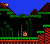 Bonk's Adventure NES Headbutting the ground