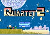 Quartet Arcade Quartet 2 - title screen