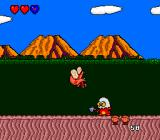 Bonk's Adventure TurboGrafx-16 Hit by an enemy #1