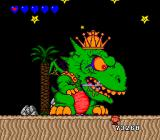 Bonk's Adventure TurboGrafx-16 King Drool is out of his shadow form