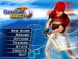 Baseball Addict Windows Mobile Main menu
