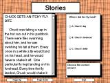 Meet Chuck Windows 3.x Reading a story about Chuck. The reading comprehension questions help parents see how their children are doing.