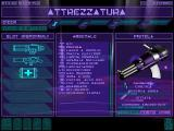 Syndicate Wars DOS Weaponry/Items store...