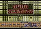 Gain Ground Genesis Title Screen