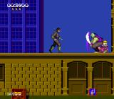 Shinobi TurboGrafx-16 One of the kidnapped children is protected by the guard