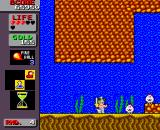 Wonder Boy in Monster Land TurboGrafx-16 Underwater