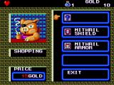 Wonder Boy III: The Dragon's Trap TurboGrafx-16 Shopping for some armor