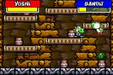 Yoshi's Island: Super Mario Advance 3 Game Boy Advance Seed Spiting Minigame
