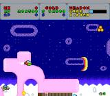 Fantasy Zone TurboGrafx-16 Using the ship's wide beam