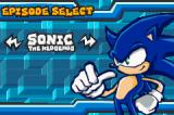 Sonic Battle Game Boy Advance Character Select Menu