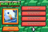Sonic Battle Game Boy Advance Minigame Screen
