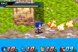 Sonic Battle Game Boy Advance E-102 Gamma explodes when defeated.