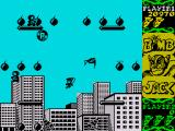 Bomb Jack ZX Spectrum One single touch of this bird is deadly