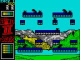 Bomb Jack II ZX Spectrum Big jump from one ledge to another