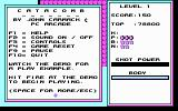 Catacomb DOS Info screen (CGA)