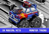 Micro Machines 2: Turbo Tournament DOS Another vehicle introduction: monster trucks! (Which look much better here than on the table.)