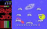 Bomb Jack II Commodore 64 Collect 10 opened sacks in a row for extra life