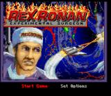 Rex Ronan: Experimental Surgeon SNES Start screen