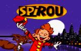 Spirou DOS Title screen