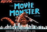 The Movie Monster Game Apple II Title Screen